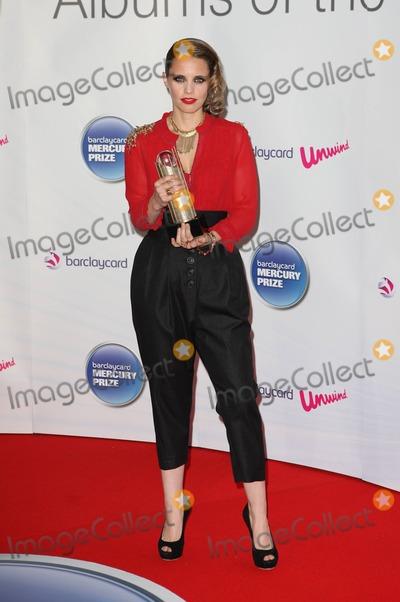 Anna Calvi Photo - Anna Calvi at the 2011 Barclaycard Mercury Prize Awards at the Grosvenor Hotel London UK 6th September 2011