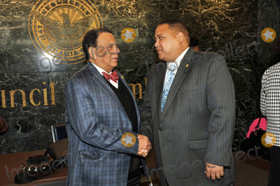Andrew Young Photo - ATLANTA GA - MARCH 5 (L-R) Former Atlanta Mayor Andrew Young and Atlanta city councilman Mihael Bond attend Proclamation Presentation Honoring Ambassador and former Atlanta Mayor Andrew Young at Atlanta City Hall on March 5 2012 in Atlanta Georgia (Photo by Moses RobinsonImageCollect