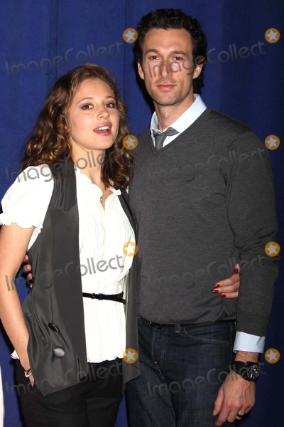 Aaron Lazar Photo - Margarita Levieva and Aaron Lazar at Photo Call For Impressionism a New Play by Michael Jacobs at the New 42nd Street Studios in New York City on 02-17-2009 Photo by Henry McgeeGlobe Photos Inc 2009