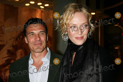 Andre Balazs Photo - Uma Thurman and Andre Balazs Arriving at a Benefit Auction For Room to Grow at Christies New York in New York City on 01-23-2007 Photo by Henry McgeeGlobe Photos Inc 2007