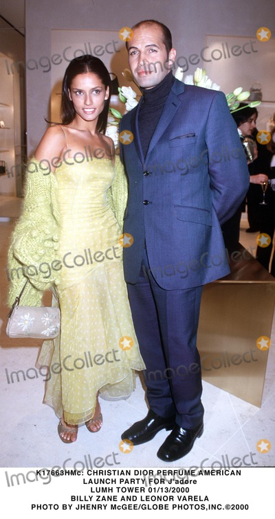 Adored Photo -  Christian Dior Perfume American Launch Party For Jadore Lumh Tower 01132000 Billy Zane and Leonor Varela Photo by Jhenry McgeeGlobe Photosinc