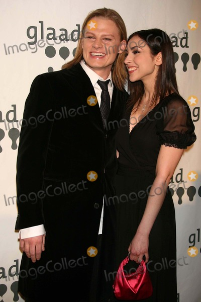 Jeffrey Carlson Photo - Jeffrey Carlson and Eden Riegel (All My Children) Arriving at the 18th Annual Glaad Media Awards at the Marriott Marquis Hotel in New York City on 03-26-2007 Photo by Henry McgeeGlobe Photos Inc 2007