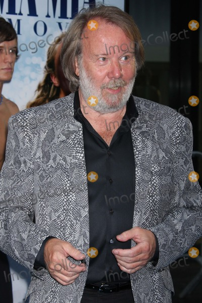 ABBA Photo - Benny Andersson of Abba Arriving at the Premiere of Mamma Mia at the Ziegfeld Theatre in New York City on 07-16-2008 Photo by Henry McgeeGlobe Photos Inc 2008
