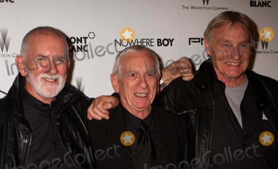 The Quarrymen Photo - The Quarrymen (Len Garry Colin Hanton and John Duff Lowe) Arriving at the Premiere of the Weinstein Companys Nowhere Boy at the Tribeca Performing Arts Center in New York City on 09-21-2010 Photo by Henry Mcgee-Globe Photos Inc 2010