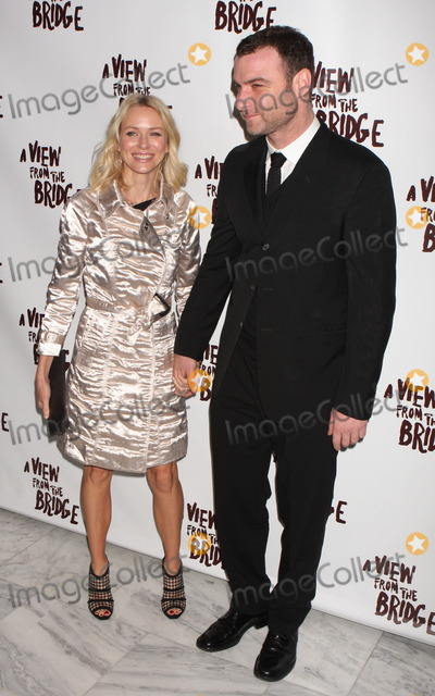 Arthur Miller Photo - New York NY 01-24-2010Naomi Watts and Liev Schreiber at the opening night party for Arthur Millers A VIEW FROM THE BRIDGE at EspaceDigital photo by Lane Ericcson-PHOTOlinknet