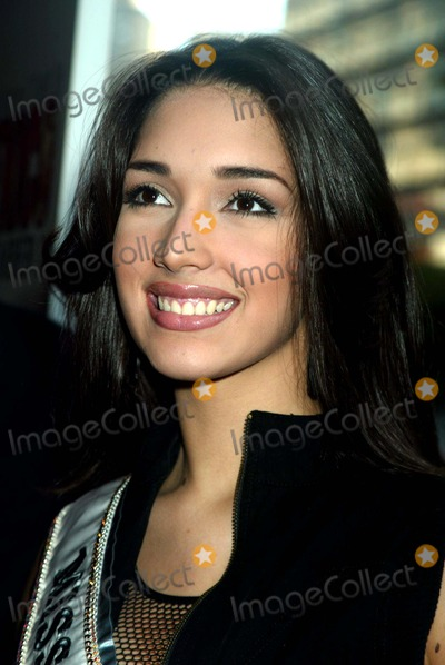 Amelia Vega Photo - Amelia Vega (Miss Universe) at the Premiere of Once Upon a Time in Mexico at Loews Lincoln Square in New York City on September 7 2003 Photo Henry McgeeGlobe Photos Inc 2003