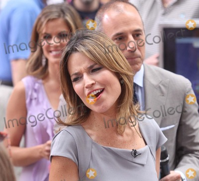Savannah Guthrie Photo - Savannah Guthrie on Nbcs Today Show Summer Concert Series at Rockefeller Plaza in New York City on 06-29-2012 Photo by Henry Mcgee-Globe Photos Inc 2012