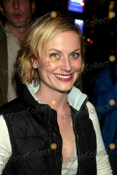 Amy Poehler Photo - Amy Poehler Arriving at the Saturday Night Live After-party at Heartland Brewery in New York City on October 18 2003 Photo Henry McgeeGlobe Photos Inc 2003
