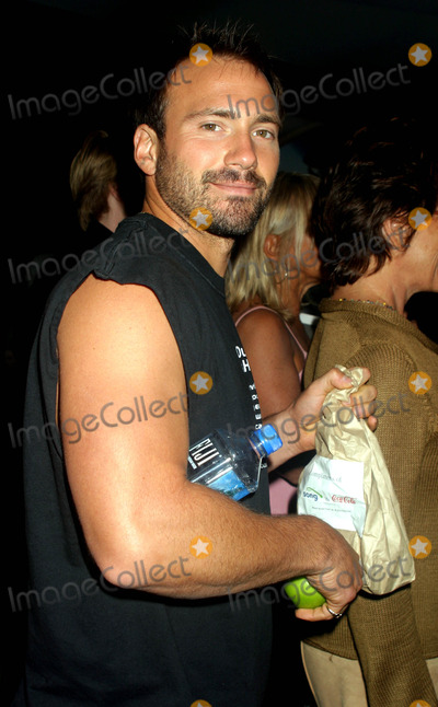 Amir Slama Photo - Eric Nies at Rosa Cha by Amir Slama Showing of Swimwear at Gertrude Tent in Bryant Park New York City on September 13 2003 Photo Henry Mcgee Globe Photos Inc 2003