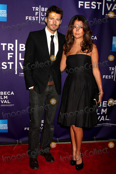 Alex Lundqvist Photo - Alex Lundqvist and Wife Keytt Arriving at the Tribeca Film Festival Premiere of Ultrasuede in Search of Halston at School of Visual Arts Theater in New York City on 04-30-2010 Photo by Henry Mcgee-Globe Photos Inc 2010