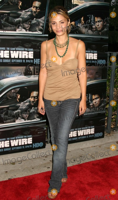 Callie Thorne Photo - Callie Thorne Arriving at the Premiere of the Third Season of the Wire at Chelsea West Theaters in New York City on September 14 2004 Photo by Henry McgeeGlobe Photos Inc 2004