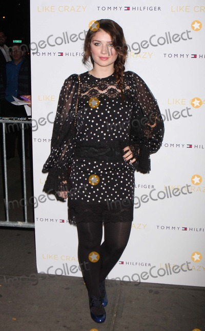 Ali Hewson Photo - Eve Hewson Daughter of Bono and Ali Hewson Arriving at the Premiere of Paramount Vantages Like Crazy at Sunshine Landmark in New York City on 10-18-2011 Photo by Henry Mcgee-Globe Photos Inc 2011