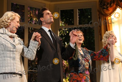 Jayne Atkinson Photo - New York NY 03-15-2009Jayne Atkinson Rupert Everett Angela Lansbury and Christine EbersoleOpening Night Curtain Call for Noel Cowards BLITHE SPIRIT at the Shubert TheatreDigital photo by Lane Ericcson-PHOTOlinknet