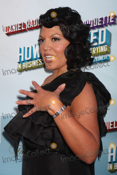Al Hirschfeld Photo - Sara Ramirez Arriving at the Opening Night Performance of How to Succeed in Business Without Really Trying at the Al Hirschfeld Theatre in New York City on 03-27-2011 photo by Henry Mcgee-globe Photos Inc 2011