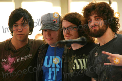 Andy Hurley Photo - Fall Out Boy (Peter Wentz Patrick Stump Andy Hurley and Joe Trohman) Performing on Nbcs Today Show 2007 Toyota Concert Series at Rockefeller Plaza in Ndw York City on 07-06-2007 Photo by Henry McgeeGlobe Photos Inc 2007