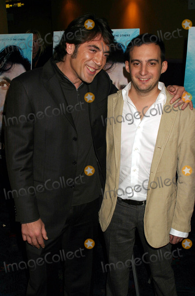 Alejandro Amenabar Photo - Javier Bardem and Alejandro Amenabar Arriving at the Premiere of the Sea Inside at Ua Union Square in New York City 12-09-2004 Photo by Henry McgeeGlobe Photos Inc 2004