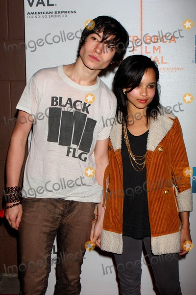 Photos And Pictures Ezra Miller And Zoe Kravitz Arriving At The