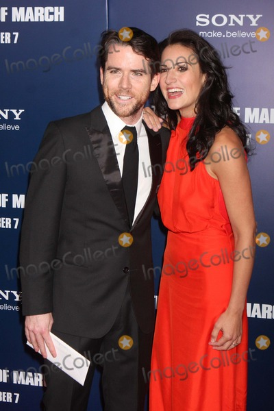 America Olivo Photo - Christian Campbell and America Olivo Arriving at the Premiere of Columbia Pictures the Ides of March at the Ziegfeld Theater in New York City on 10-05-2011 Photo by Henry Mcgee-Globe Photos Inc 2011