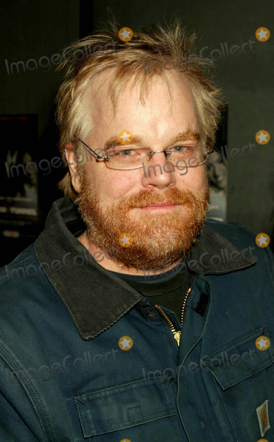 Philip Seymour Hoffman Photo - Philip Seymour Hoffman Arriving at the Opening Night of Bridge  Tunnel at the 45 Bleecker Street Theatre in New York City on February 19 2004 Photo by Henry McgeeGlobe Photos Inc 2004