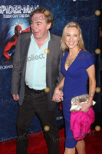 Andrew Lloyd Webber Photo - Andrew Lloyd Webber and Daughter Imogen Arriving at the Opening Night of spider-man Turn Off the Dark at the Foxwoods Theatre in New York City on 06-14-2011  Photo by Henry Mcgee-Globe Photos Inc 2011