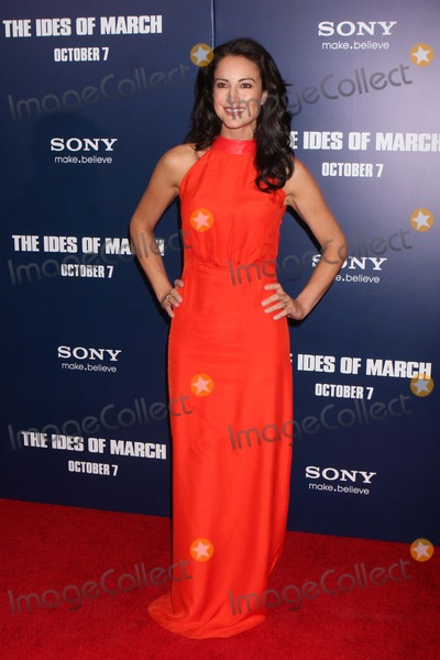 America Olivo Photo - America Olivo Arriving at the Premiere of Columbia Pictures the Ides of March at the Ziegfeld Theater in New York City on 10-05-2011 Photo by Henry Mcgee-Globe Photos Inc 2011