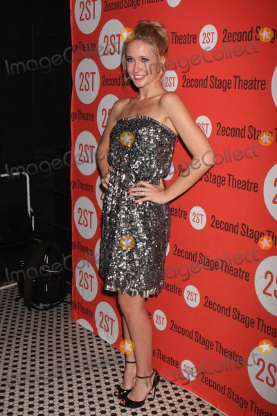 Anna Camp Photo - Anna Camp Arriving at the Opening Night Party For Second Stage Theatres Production of All New People at Hb Burgers in New York City on 07-25-2011 Photo by Henry Mcgee-Globe Photos Inc 2011