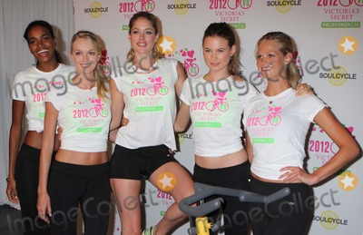Arlenis Sosa Photo - Victorias Secret Angels Arlenis Sosa Lindsay Ellingson Doutzen Kroes Behati Prinsloo and Erin Heatherton at the Second Annual Supermodel Cycle to Benefit Pelotonia at Soulcycle Upper East Side in New York City on 07-11-2012 Photo by Henry Mcgee-Globe Photos Inc 2012
