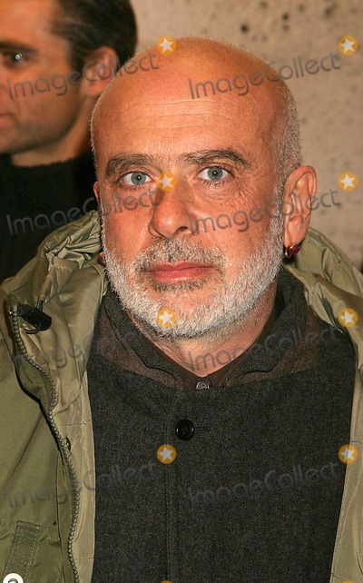 Sante DOrazio Photo - Francesco Clemente Arriving at the Opening of Pam American Icon an Exhibition of Photographs of Pamela Anderson by Sante Dorazio at Stellan Holm Gallery in New York City on 01-21-2005 Photo by Henry McgeeGlobe Photos Inc 2005