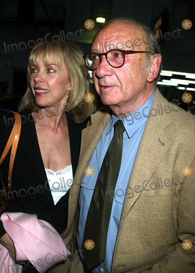 Elaine Joyce Photo - Neil Simon with Wife Elaine Joyce at Performance of Nine at the Eugene Oneill Theater in New York City on April 29 2003 Photo by Henry McgeeGlobe Photos Inc 2003