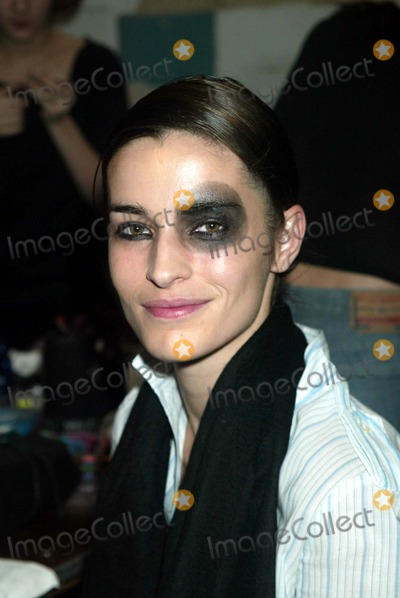 Amanda Moore Photo - Amanda Moore Backstage at Heatherette Showing of Fall Collection in New York City on February 7 2003 Photo by Henry McgeeGlobe Photos Inc 2003 K28850hmc 0307
