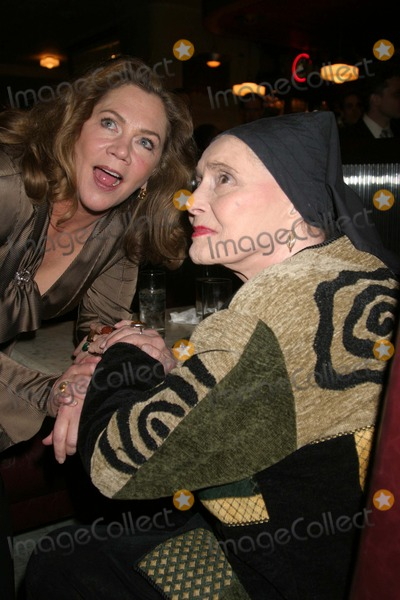 Patricia Neal Photo - NYC  032005Kathleen Turner with Patricia Neal at the opening night party for her new Broadway play Whos Afraid of Virginia Woolf at 45 BondDigital Photo by Adam Nemser-PHOTOlinkorg