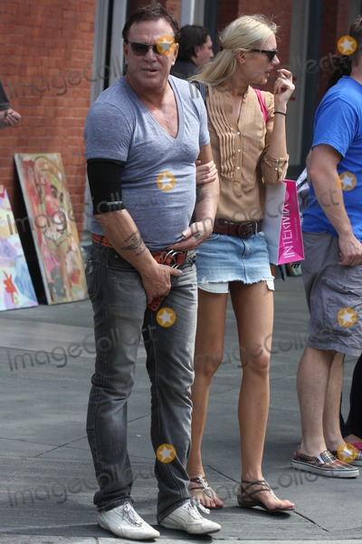 Photos And Pictures Nyc 07 02 10 Mickey Rourke Grabbing His Crotch And Adjusting Himself While Shopping With Girlfriend Anastassija Makarenko In Soho Photo By Adam Nemser Photolink Net Rourke and makarenko largely keep their relationship private. mickey rourke grabbing his crotch