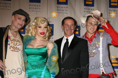 Amanda Lepore Photo - NYC  021007Heatherette designers (recipients of the Human Rights Campaigns 2007 Visibilty Award) Richie Rich (l) and Traver Rains (r) with Joe Solmonese and Amanda Lepore at the HUMAN RIGHTS CAMPAIGN annual greater New York City Gala Dinner at the Waldorf Astoria HotelDigital Photo by Adam Nemser-PHOTOlinknet