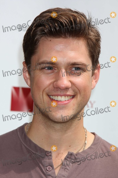 Aaron Tveit Photo - NYC  091309Aaron Tveit (Next to Normal) at Broadway on Broadway 2009 in Times SquareDigital Photo by Adam Nemser-PHOTOlinknet