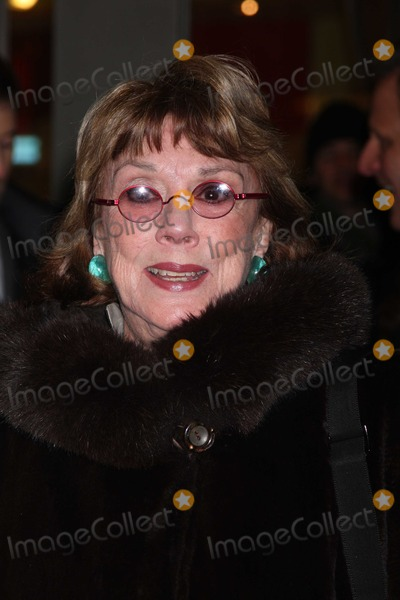 Phyllis Newman Photo - NYC  012110Phyllis Newman at opening night of the Broadway play Present Laughter at the American Airlines TheatreDigital Photo by Adam Nemser-PHOTOlinknet