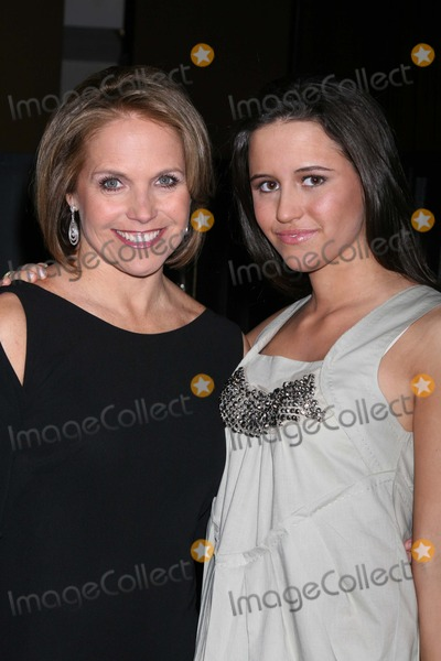 Adolescents Photo - NYC  030708Katie Couric and daughter Ellie Monahan TEEN EFFORT annual fundraiser for the Mount Sinai Adolescent Health Center at the Mandarin Oriental HotelDigital Photo by Adam Nemser-PHOTOlinknet