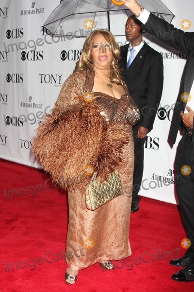 Aretha Franklin Photo - NYC  061310Aretha Franklin at the 64th Annual Tony Awards at Radio City Music HallPhoto by Adam Nemser-PHOTOlinknet