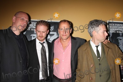 Adam Yauch Photo - The Messenger cast9223JPGNYC  110809Oren Moverman Ben Foster Woody Harrelson and Adam Yauch at a screening of their new movie The Messenger at Clearviews Chelsea CinemaDigital Photo by Adam Nemser-PHOTOlinknet