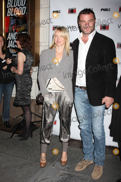 Andrew Jackson Photo - NYC  101310Naomi Watts and Liev Schreiber at opening night of Bloody Bloody Andrew Jackson on Broadway at the Bernard B Jacobs TheatrePhoto by Adam Nemser-PHOTOlinknet
