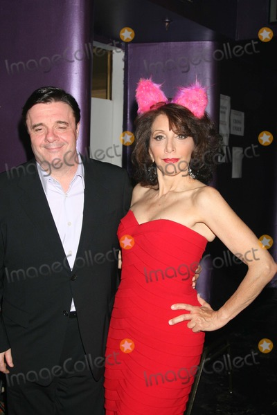Andrea Martin Photo - NYC  062208Nathan Lane and Andrea Martin back stage at BROADWAY BARES 18 WONDERLAND benefiting Broadway CaresEquity Fights AIDS at Roseland BallroomDigital Photo by Adam Nemser-PHOTOlinknet