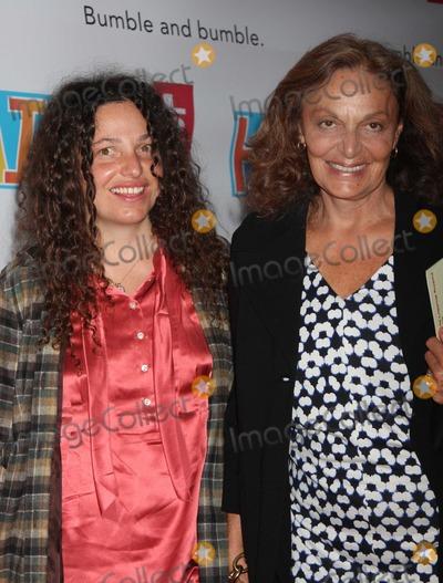 Tatianna Photo - NYC  033109Diane Von Furstenberg and daughter TatiannaBroadway opening night of HAIR at the Al Hirschfeld TheatreDigital Photo by Adam Nemser-PHOTOlinknet