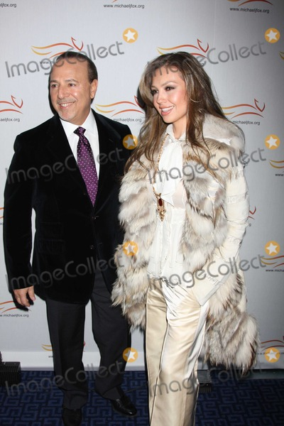 Thalia Mottola Photo - Thalia Tommy Mottola2639JPGNYC  110508Thalia and Tommy Mottola at A Funny ThingHappened On the Way to Cure Parkinsonsto benefit The Michael J Fox Foundation for Parkinsons Research Sheraton New YorkDigital Photo by Adam Nemser-PHOTOlinknetONE-TIME REPRODUCTION RIGHTS ONLYNO WEBSITE USE WITHOUT AGREEMENT