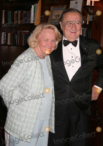 Arnold Scaasi Photo - NYC  092304Liz Smith and Sirio Maccioni at a party celebrating the publication for the Arnold Scaasi new book WOMEN I HAVE DRESSED (AND UNDRESSED) at Le Cirque 2000 Digital Photo by Adam Nemser-PHOTOlinkorg