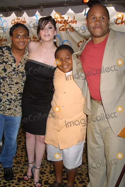 Anneliese van der Pol Photo - NYC  080503Orlando Brown Anneliese van der Pol Kyle Orlando Massey and Rondell Sheridan (cast of THATS SO RAVEN) at the premiere of the new Disney Channel Original Movie THE CHEETAH GIRLS at LaGuardia High SchoolDigital Photo by Adam NemserPHOTOlink