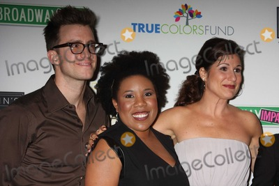 Gavin Creel Photo - NYC  092809Gavin Creel (Hair) Melinda Doolittle (American Idol) and Stephanie J Block at the launch of the first monthly True Colors Cabaret presented by The True Colors Tour Broadway Impact and the True Colors Fund at Feinsteins at Loews RegencyDigital Photo by Adam Nemser-PHOTOlinknet