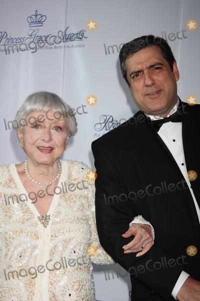 Celeste Holm Photo - NYC  101508Celeste Holm and husband FrankPrincess Grace Foundation-USA Princess Grace Awards Gala at Cipriani 42nd StreetDigital Photo by Adam Nemser-PHOTOlinknet