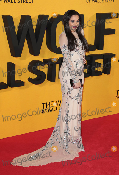 Amal Fashanu Photo - Jan 09 2014 - London England UK - The Wolf of Wall Street UK Premiere Odeon Leicester SquarePhoto Shows Amal Fashanu