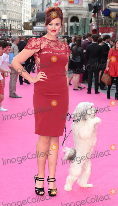 Ashleigh Butler Photo - Jun 11 2014 - London England UK - World Premiere of Walking On Sunshine at Vue West EndPhoto Shows Ashleigh Butler and Pudsey