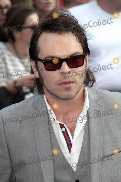 Gaz Coombs Photo - Jul 10 2013 - London England UK - The Worlds End World Premiere The Empire Leicester SquarePhoto Shows Gaz Coombes of Supergrass