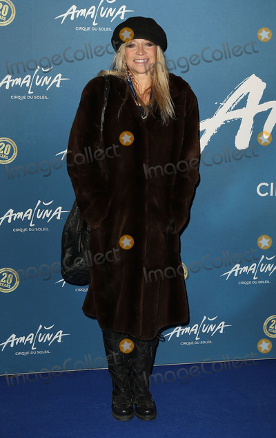 Jo Woods Photo - January 19 2016 - Jo Wood attending Cirque du Soleil Amaluna press night Royal Albert Hall in London UK